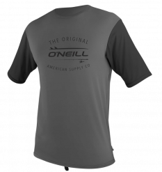 O'Neill Mens Limited UV Sun Shirt (Graphite/Black)