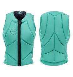 O'Neill Womens Slasher Comp Impact Vest (Seaglass/Abyss) - Wetndry Boardsports
