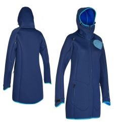 ION Coasy Coat Womens Jacket (Blue)