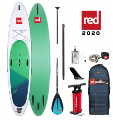 """Red Paddle Co, 12'6"""" x 32"""" Voyager Package 2020 - Alloy"""