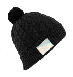 Burton Womens Mini Cable Beanie (True Black)