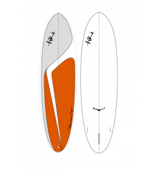 "Tiki Custom 6'10"" Flowbird Surfboard (Burnt Orange) - Wetndry Boardsports"