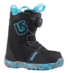 Burton Kids Grom Boa Snowboard Boot 2018 (Black) - Wetndry Boardsports