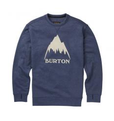 Burton Oak Crew Fleece (Indigo) - Wetndry Boardsports