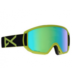Men's Anon Relapse Goggle Black Green / SonarGreen MFI 2019