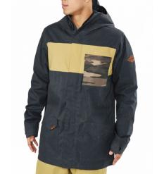 Dakine Elsman Snowboard Jacket 2019 (Black/Fennel/Field Camo) - Wetndry Boardsports