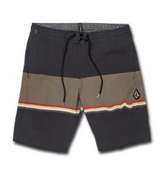 """Volcom 3 Quarta Stoney 19"""" Boardshorts (Asphalt Black) - Wetndry Boardsports"""