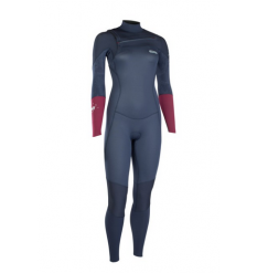 ION Womens Trinity Element 3/2mm FZ Wetsuit (Slate Blue) - Wetndry Boardsports