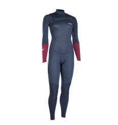 ION Womens Trinity Element 3/2mm FZ Wetsuit (Slate Blue) - Wetndry Boardsports
