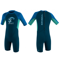 O'Neill Toddlers Spring Reactor Wetsuit 2mm (Slate/Ocean) - Wetndry Boardsports