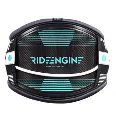 Ride Engine 3K Carbon Elite Waist Harness 2018 (Black/White) - Wetndry Boardsports