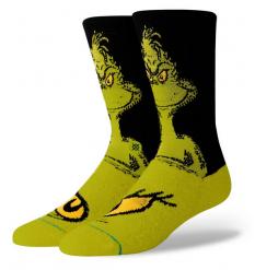 "Stance ""The Grinch"" Christmas Socks - Wetndry Boardsports"