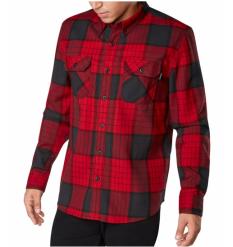 Dakine Reid Tech Flannel Shirt (Crimson) - Wetndry Boardsports