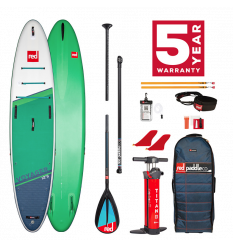 "Red Paddle Co 12'6"" Voyager Touring SUP Inflatable Package 2021"