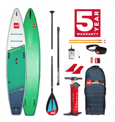 "Red Paddle Co 13'2"" Voyager Touring SUP Inflatable Package 2021"