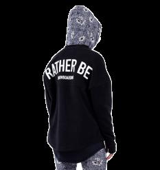 """Eivy """"Rather Be"""" Boxy Fleece (Black)"""