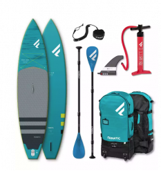 Fanatic Ray Air Premium Touring/Pure Inflatable SUP Package 2021