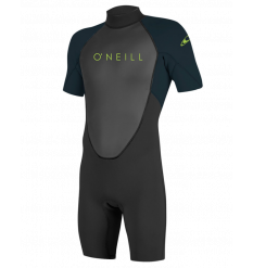 O'Neill Youth Reactor II 2mm Spring Wetsuit (Black/Slate)