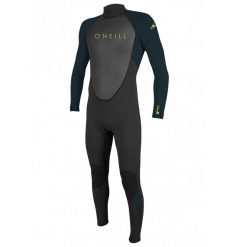 O'Neill Youth Reactor II 3/2mm Wetsuit (Black/Slate)