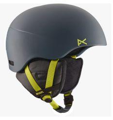 Anon Helo 2.0 Snowboard Helmet (Glitchy Gray) 2016