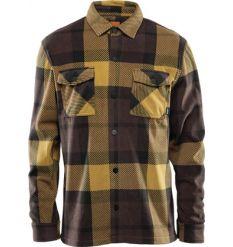 ThirtyTwo Rest Stop Fleece Shirt (Brown/Black)