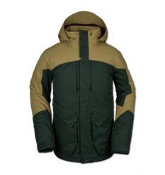 Volcom Anders 2L TDS Snowboard Jacket 2020 (Dark Green)