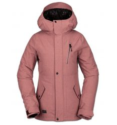 Volcom Womens Ashlar Insulated Snowboard Jacket (Mauve) - Wetndry Boardsports