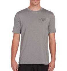 Volcom Lit Rash Guard T-Shirt (Grey)