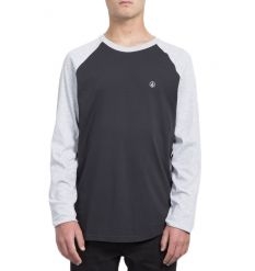 Volcom Pen LS Tshirt (Heather Grey) - Wetndry Boardsports