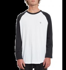 Volcom Pen Longsleeve T-Shirt (New Black)