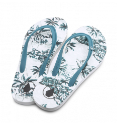 Volcom Rocking 3 Sandals (Tidal Blue)