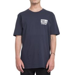 "Volcom ""Volcom is good"" Tshirt (Navy) - Wetndry Boardsports"