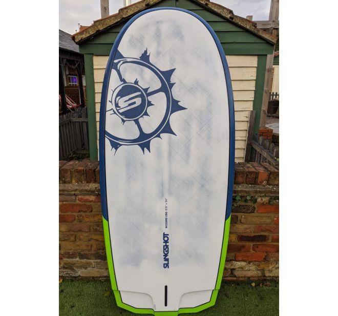 Slingshot Wizard 150l Windsurf Foil Board Second Hand Wetndry Boardsports