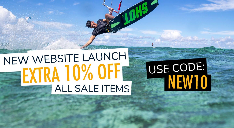 New Website Discount