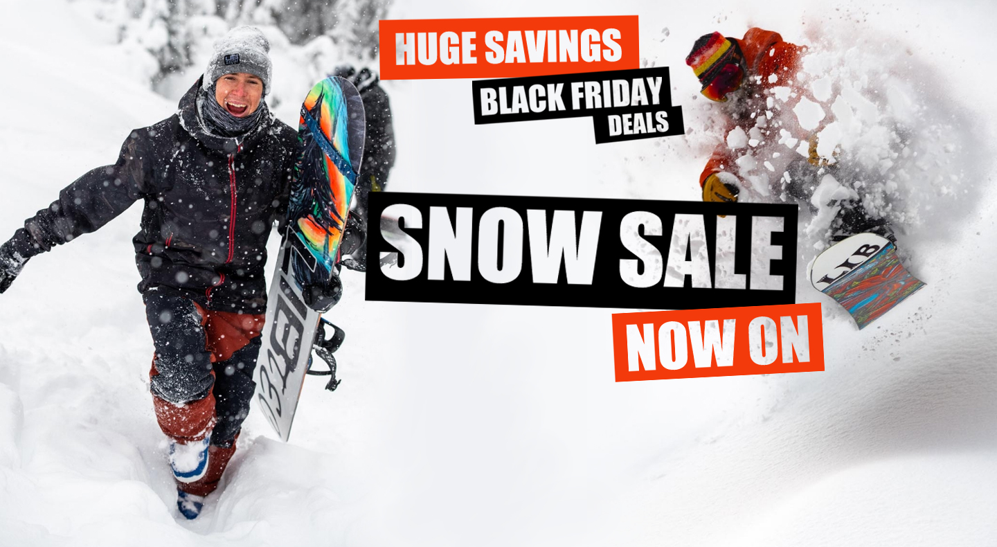 Snowboarding Black Friday