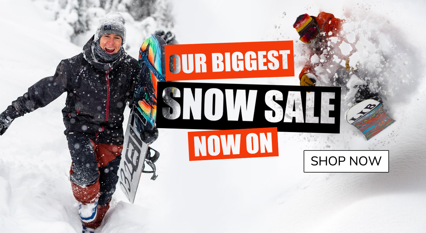 Our Biggest Snow Sale