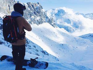 Nathan Snowboarding