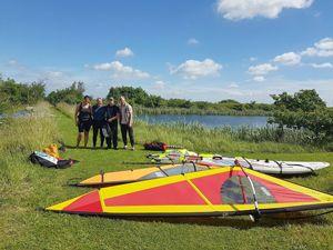 Beginner Windsurf Lessons Essex