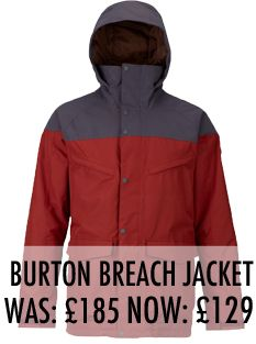 Burton Breach Jacket Sale