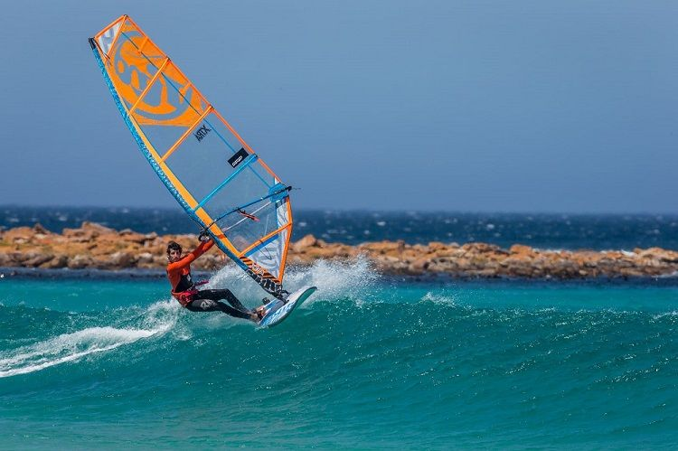 RRD Firemove LTD V3 Windsurf Board - Action Shot for web