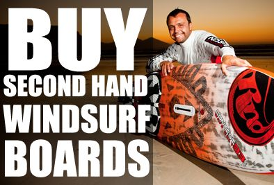 Second hand windsurf boards