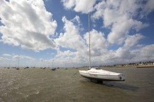 Thorpe Bay Rigging lowtide shallow water thumb nail