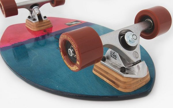 "HHamboards Biscuit 24"" Limited Edition Cruiser (Red Bolt)"